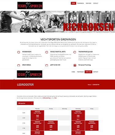 Vechtsporten Groningen nieuwe website