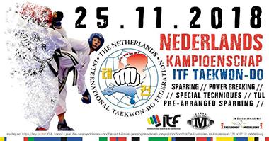Tapilatu Groningen NK 2018 Taekwondo